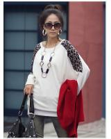 WT2438 Stylish Long Sleeves Top White