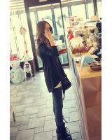 WT2459 Fashion Top Black
