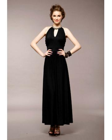 WD8024 Elegant Dinner Dress Black_Dresses_Ready Stock_Whizet ...