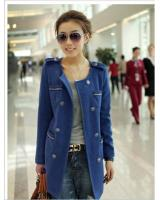 WJ8161 Korea Fashion Jacket Blue