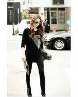 WT9226 Fashion Top Black