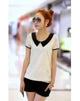 WT9192 Trendy Lace Top As Picture