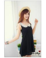 WD9209 Fashion Dress Dark Blue