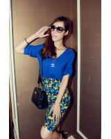 WT9211 Korea Fashion Top Blue