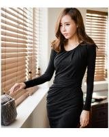 WD9228 Korea Fashion Dress Black