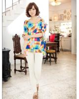WT9254 Korea Fashion Top As Picture