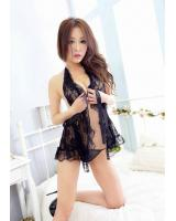 WL3408 Sexy Lingerie Black