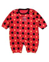 WB1024 Cute Baby Romper Red
