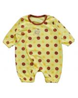 WB1024 Cute Baby Romper Yellow