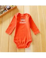 WB1040 Cute Baby Romper Red