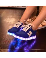 WS003 Cool Multi Colour LED Shoes Blue