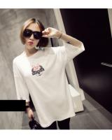 WT5969 Cute Top White