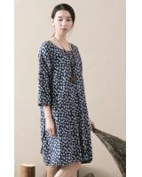 WD6001 Floral Dress As Picture