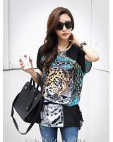 WT6006 Stylish Leopard Top As Picture
