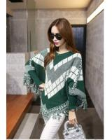 WT6563 Stylish Knit Top Green