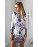 WD7040 Europe Fashion Dress As Picture