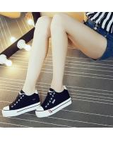 PS1454 Fashion Canvas Shoe Black (Pre Order)