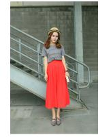 WP7166 Fashion Loose Pant Red