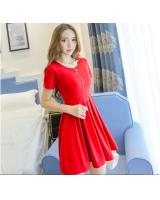 WD7168 Pretty Dress Red