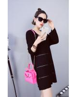 WD7211 Trendy Dress Black