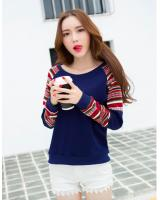 WT7252 Fashion Top Blue