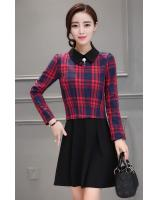 PD1541 Fashion OL Dress Red (Pre Order)