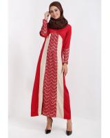 WH7375 Pretty Jubah Red