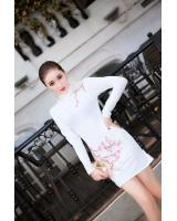 PC1597 Stylish Cheongsam White (Pre Order)