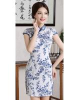 PC1603 Charming Cheongsam Blue (Pre Order)