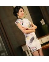 PC1612 Fashion Cheongsam White (Pre Order)