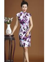 PC1651 Pretty Cheongsam Purple (Pre Order)