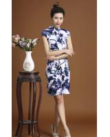 PC1653 Charming Cheongsam Blue (Pre Order)