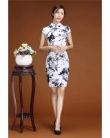 PC1657 Stylish Cheongsam White (Pre Order)