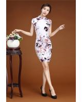 PC1658 Fashion Cheongsam White (Pre Order)