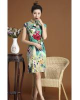 PC1662 Charming Cheongsam Green (Pre Order)