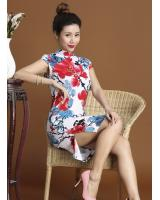 PC1663 Stylish Cheongsam Flower (Pre Order)