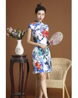 PC1664 Pretty Cheongsam Blue (Pre Order)