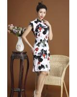 PC1665 Fashion Cheongsam Black (Pre Order)