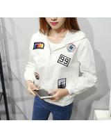 PJ1673 Stylish Jacket White (Pre Order)