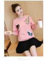 PT1685 Stylish Top Pink (Pre Order)