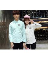 PT1687 Trendy Couple Shirt As Picture (Pre Order)