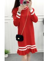 WD3761 Korea Fashion Dress Red