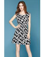 WD3767 Charming Dress Black