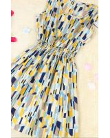 WD3767 Charming Dress Stripe