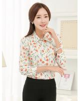 WT7501 Charming Top Almond