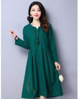 WD7506 Charming Dress Green