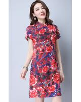 PC1832 Trendy Cheongsam Red (Pre Order)