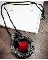 PA1843 Stylish Necklace Red (Pre Order)