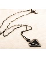 PA1844 Fashion Necklace Black (Pre Order)