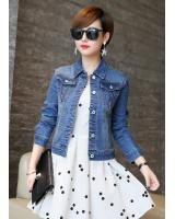 PJ1852 Fashion Denim Jacket Blue (Pre Order)